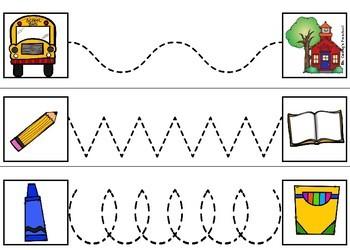 Back to School Math & Literacy Binder