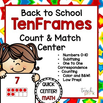 Back to School Math & Literacy Center Bundle!