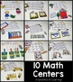 Back to School Math & Literacy Centers - First Grade
