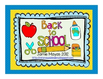 Back to School Math & Literacy Pack!