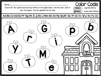 Back to School Math & Literacy Printables {Back to the Basics}