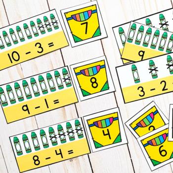 Back to School Math Matches: Numbers 1-20
