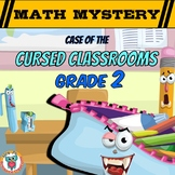 Back to School Math Mystery Activity 2nd Grade Edition Worksheets