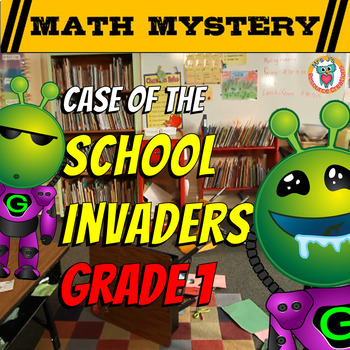 Back to School Math Mystery Activity (GRADE 1)