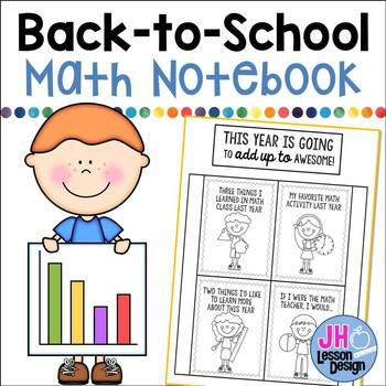 Back to School: Math Notebook Foldable
