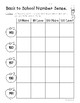 Back to School Math Number Sense Worksheet Pack!  Leveled - 3 Worksheets