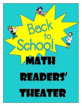 Back to School Math Readers' Theater