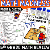 Back to School Math Review Packet | Rising 6th Grade