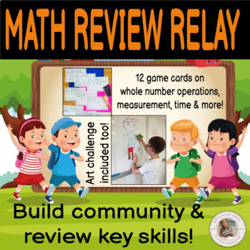 Back to School Math Review Relay!