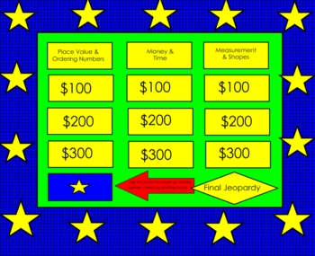 Back to School Math Review Smartboard Lesson