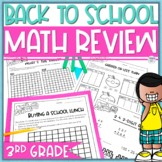 Back to School Math Review Worksheets - 3rd Grade