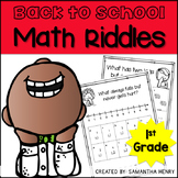 Back to School Math Riddles