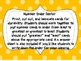 Back to School Math Small & Whole Group Activities