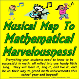 Back to School Math Song - Musical Map to Mathematical Marvelousness!