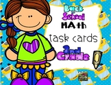 #markdownmonday Back to School Math Task Cards (2nd grade)
