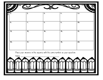 Back to School Math Task Cards (3rd grade)