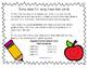 Back to School Math Task Cards FREEBIE