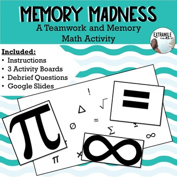 "Back to School Math Teamwork Game ""Memory Madness"" #StartFreshBTS"