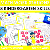 Math Centers for Kindergarten | Back to School