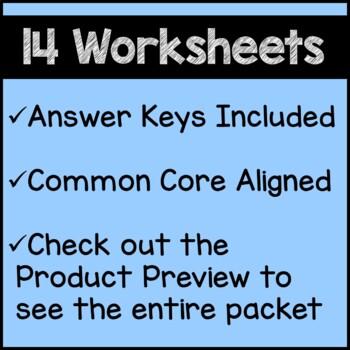 Back to School Math Worksheets 3rd Grade