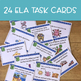 Back to School: Math and ELA Review Task Cards 2nd Grade