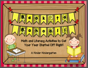 Back to School! Math and Literacy Activities to Get Your Y
