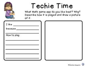 Back to School Math and Literacy Ideas