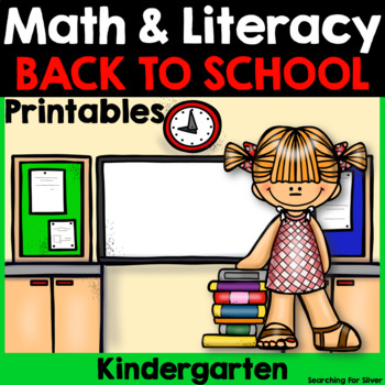 Back to School Math and Literacy {Kindergarten}