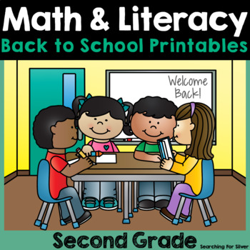 Back to School Math & Literacy Printables {2nd Grade}