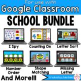 Back to School Math and Phonics BUNDLE for Google Classroo
