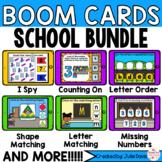 Back to School Math and Phonics Digital Boom Cards™ Bundle