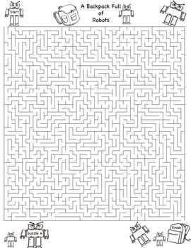 Back to School Mazes & Puzzles!