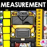 August September Back to School Nonstandard Measurement Center