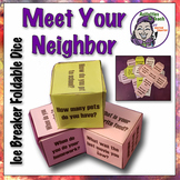 Back to School - Meet UR Neighbor Foldable Dice - Ready to Play