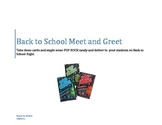 Back to School Meet and Greet