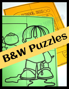 Back to School Meet and Greet Puzzles