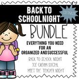Back to School/Meet the Teacher BUNDLE