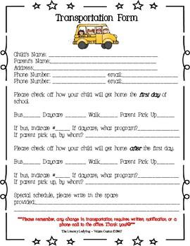 Back to School / Meet the Teacher Bundle - Navy