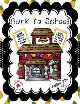 Back to School / Meet the Teacher Bundle - Pineapple