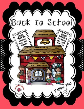 Back to School / Meet the Teacher Bundle - Precious Pink