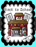 Back to School / Meet the Teacher Bundle - Sea Foam