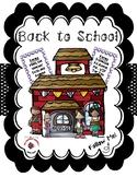 Back to School / Meet the Teacher Bundle - White