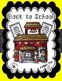Back to School / Meet the Teacher Bundle - Yellow