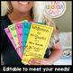 Back to School Meet the Teacher Editable Brochure