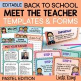 Meet the Teacher Templates Editable Parent Forms + Google