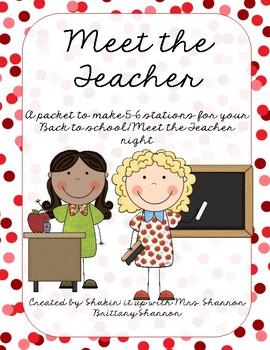 Back to School/ Meet the Teacher Night