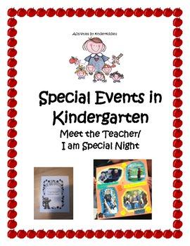 Back to School Meet the Teacher Night for Kindergarten