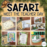 Back to School Meet the Teacher & Open House- Safari Centers & Activities