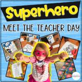 Back to School Meet the Teacher & Open House-Superhero Centers & Activities
