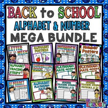 Back to School Mega Bundle: Alphabet and Number